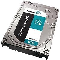 Seagate Surveillance ST5000VX0001 5 TB 3.5 Internal Hard Drive - SATA - 7200 rpm - 128 MB Buffer - Bare Bare Drive