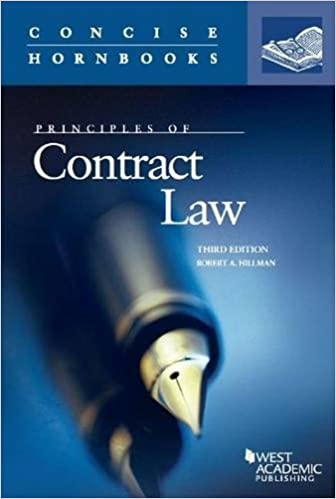 Principles of contract law concise hornbook series robert hillman principles of contract law concise hornbook series 3rd edition fandeluxe Image collections
