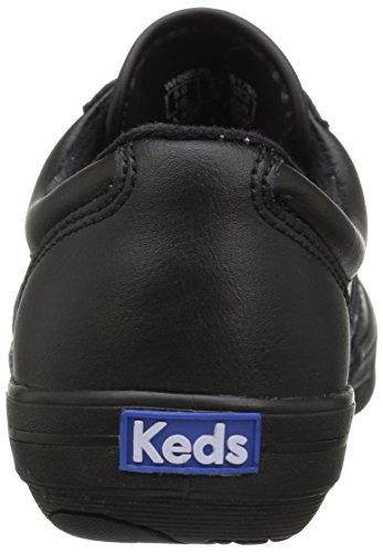 Keds Womens Craze Ii Sneaker De Mode En Cuir Noir / Noir