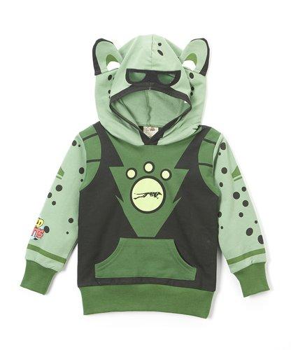 Doodle Pants Boys' Wild Kratts Cheetah Creature Power Suite Hoodie 4T (Creature Hoodie Costumes)