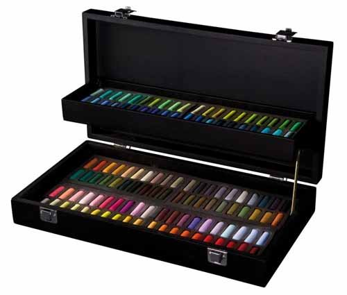 Sennelier Black Box Half Soft Pastel Box 120 by Sennelier