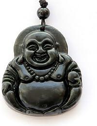 Natural Stone Happy Buddha Pendant