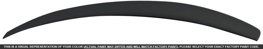 Dawn Enterprises PAS12-FM Factory Style Flush Mount Spoiler Compatible with Volkswagen Passat Black L041
