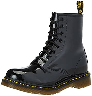 Dr. Martens 1460 Patent - Botas para mujer, color negro, talla talla inglesa UK Adults Size 3