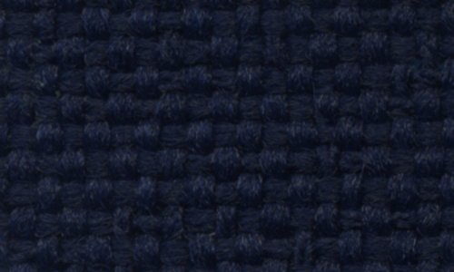 Acme U925PCC-123 Front and Rear Indigo Blue Cloth Bench Seat Upholstery