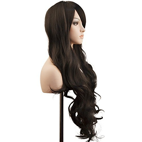 YOPO-Wig-28-Long-Wigs-for-Women-with-Free-Wig-Cap-Bobby-Pins-Wavy-Curly-Halloween-Cosplay-Synthetic-Wig