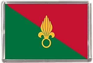 Legión extranjera bandera regalo Souvenir imán para nevera: Amazon.es: Hogar
