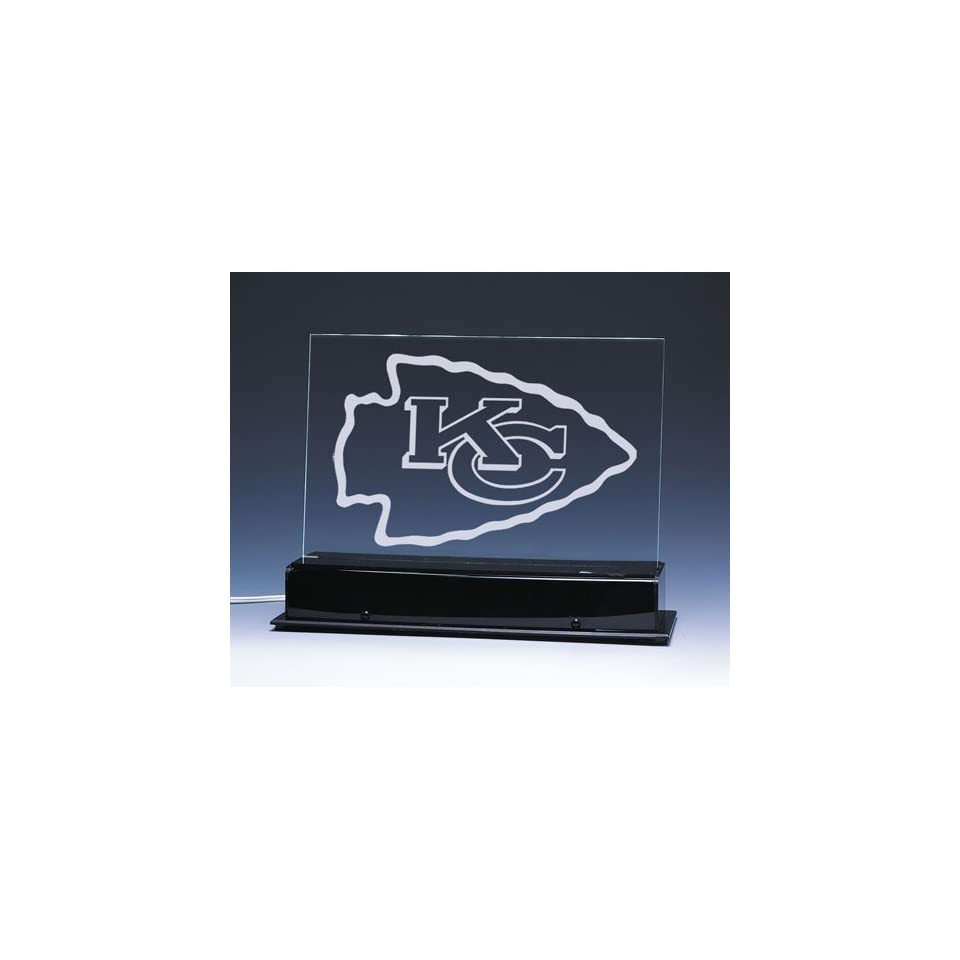 Kansas City Chiefs NFL Edge Light Team Logo Display