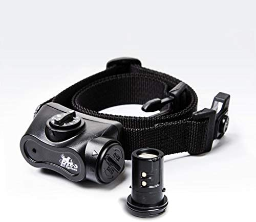 DT Systems, Bark Boss Electronic Dog Collar, Rechargeable, Black