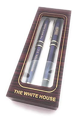Royal Blue - The White House 2 Pen Set