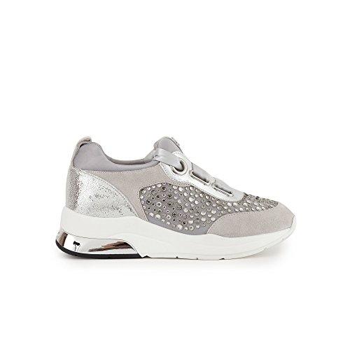 Liu Jo Shoes Woman Running Candice B18013T203701072 Grey 8mO2d2E