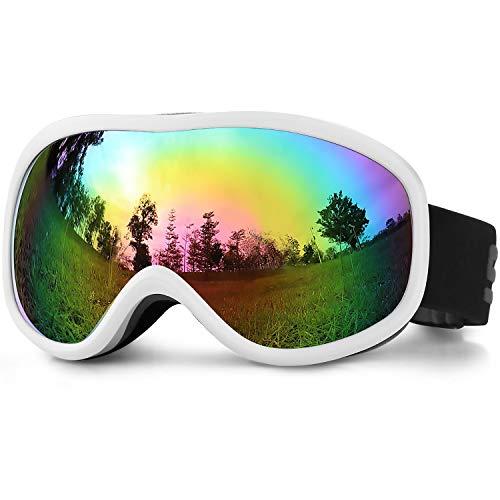 SPOSUNE OTG Ski Goggles - Over Glasses Snow Snowboard Goggle with Anti Fog Dual Lens for Men Women...
