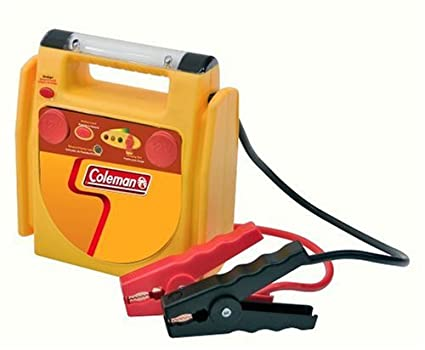 amazon com coleman pmj8960 10 amp hour jumpstart system with work rh amazon com Coleman Powermate Drill Battery Coleman Powermate 18V Battery Charger