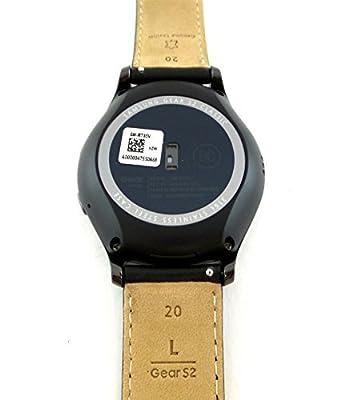Samsung Gear S2 Classic Smartwatch 44mm Verizon Wireless with Leather Strap SM-R735VZKAVZW