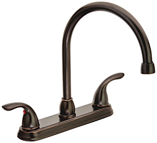 (Pfister G136200Y Pfirst Series 2-Handle Kitchen Faucet, Tuscan Bronze, 1.8 gpm)