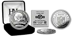 NFL New England Patriots 2012 Silver Game Coin