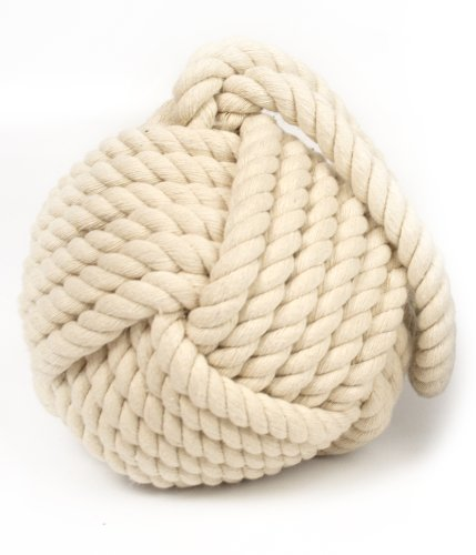 sil Rope Door Stop,Cream ()