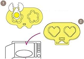 HONG-YANG Microondas Cocedor de Huevos Vapor de Huevos Molde de ...