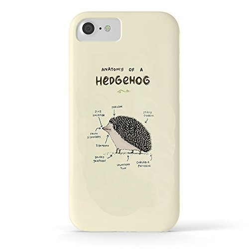 Roses Garden Phone Case Protectivedesign Hard Back Case Anatomy Of A Hedgehog Tough Case for iPhone 6