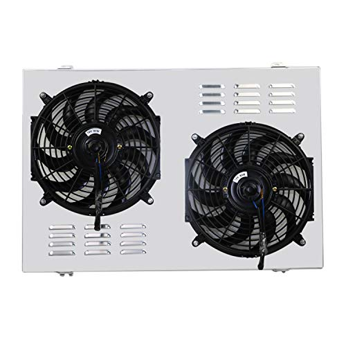 CoolingCare Aluminum Shroud & Fan for 1973-91 Chevy/GMC C/K Series C10 C20 C30 Suburban Truck