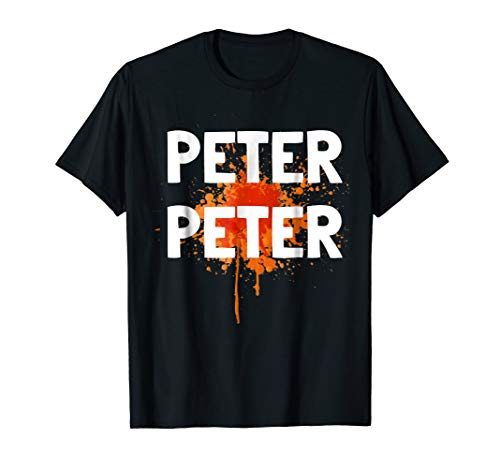 Peter Peter Couples Matching Halloween Costume T-Shirt Idea ()