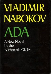 Ada or Ardor: A Family Chronicle 0679725229 Book Cover