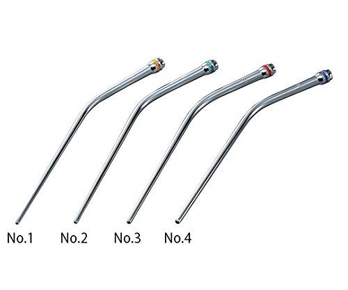 ファースト7-3300-04吸引管(への字)先端Φ3.4mm青 B07BD31XCS