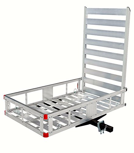 MaxxHaul 80779 Aluminum Hitch Mount Cargo Carrier