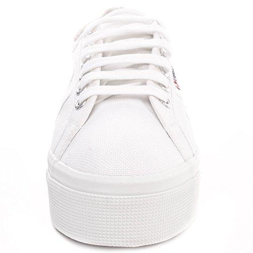 Superga, mujer Zapatillas blanco