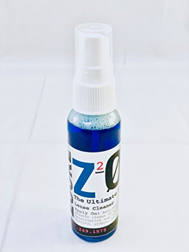 Z2O 2 oz Anti Fog spray cleaner safe for all optics. antifog spray- use for over 250 applications on Sunglasses, ski snowboard motorcycle goggles or visors, windshields, dive and swim - Or Sunglasses Goggles