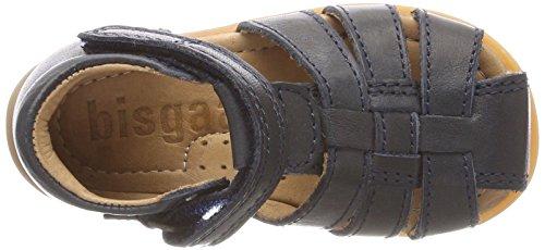 Bisgaard Unisex-Kinder Sandalen Geschlossene Blau (Blue)