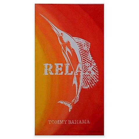Relax Marlin Beach Towel in Sunrise