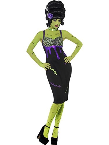 Ladies Pin Up Frankie Costume Halloween Outfit - Size 16-18 (Pin Up Frankie Costumes)
