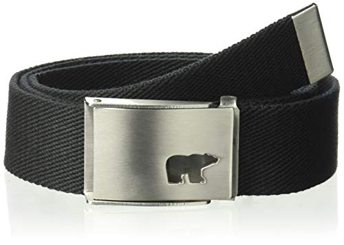 Jack Nicklaus Men's Web Belt, Caviar, One Size, used for sale  Delivered anywhere in USA