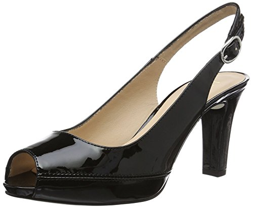 Sandales pa Noir Unisa Bout 17 Femme Nick Ouvert black qttZWr1c