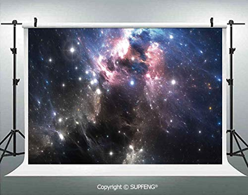 - Photography Backdrops Giant Nebula in Vivid Colors Space Motion Supernova Futuristic 3D Backdrops for Photography Backdrop Photo Background Studio Prop