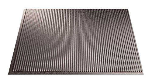 Fasade Easy Installation Rib Galvanized Steel Backsplash Panel for Kitchen and Bathrooms (18 sq ft Kit) by Fasade