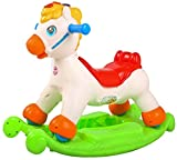 Baybee Castor 2 in 1 Educational Rocking Horse with Music