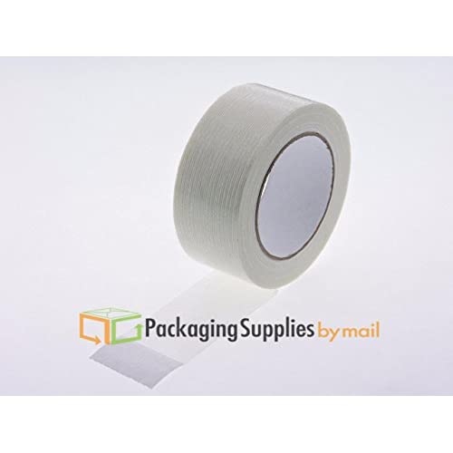 """Top 2"""" x 60 yard 4.8 Mil Industrial Grade Filament Tear Resistant Tape 168 RLS by PSBM for cheap"""