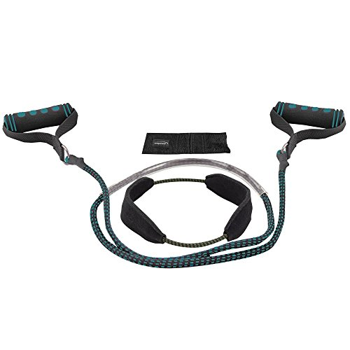 Empower Total Body Beginner/Advanced Toning System, One Size, Teal/Black/Blue Body Toning Systems