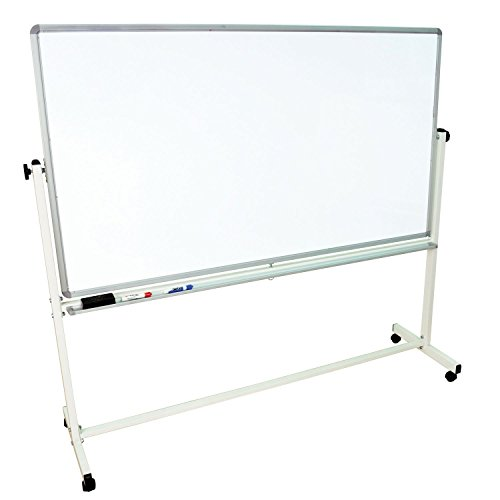 LUXOR MB7240WW Reversible Magnetic Whiteboard 60%OFF
