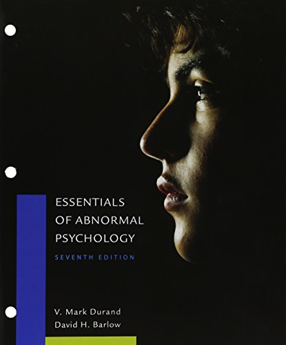 Bundle: Essentials of Abnormal Psychology, Loose-Leaf Version, 7th + MindTap Psychology, 1 term (6 months) Printed Access Card