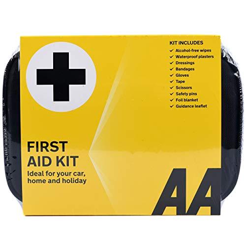 AA Standaard EHBO-doos – AA0095 – Een essentieel onderdeel voor het hele gezin in de auto, op vakantie, op reis, op de…