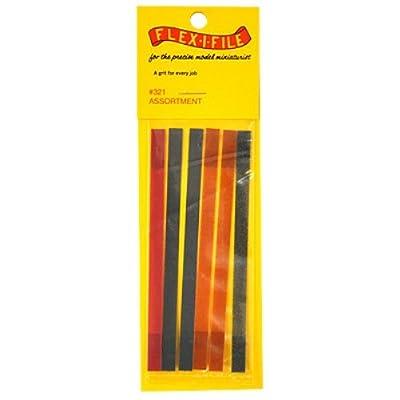 Flex-I-File 0321 Refill Sanding Tape Assortment: Toys & Games [5Bkhe1900743]