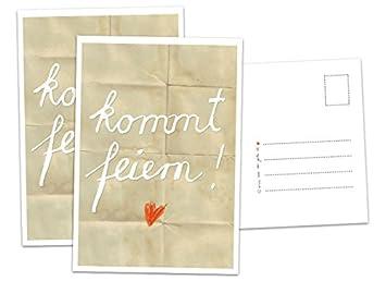 Hochzeitseinladung Kommt Feiern Beige Hochzeitseinladungskarte