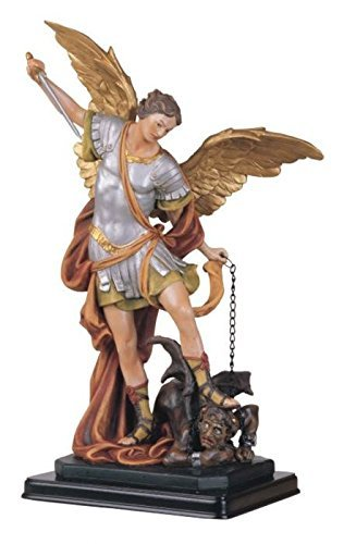 - George S. Chen Imports SS-G-212.04 Saint Michael the Archangel Holy Figurine Religious Decoration, 12