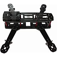 QWinOut Glass Fiber Mini Alien Racing Drone 250mm 250 RC Quadcopter Frame Kit Unassembled for DIY FPV As ZMR250 Q250