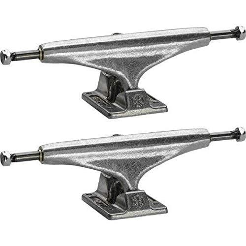 "Independent Stage 11 - 139mm Standard Silver Skateboard Trucks - 5.39"" Hanger 8.0"" Axle (Set of 2)"