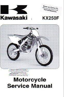 official 2006 2007 kawasaki kx250f factory service manual kawasaki rh amazon com 2006 Kawasaki KX250F Specs 2006 Kawasaki KX250F Motor