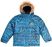 SMONTY Kids Winter Snow Jacket Breathable&Waterproof Faux Fur Hood Insulated-Ja